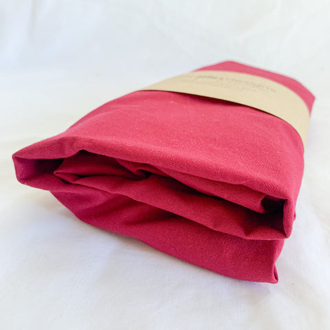 Ruby Cotton Bassinet Sheet