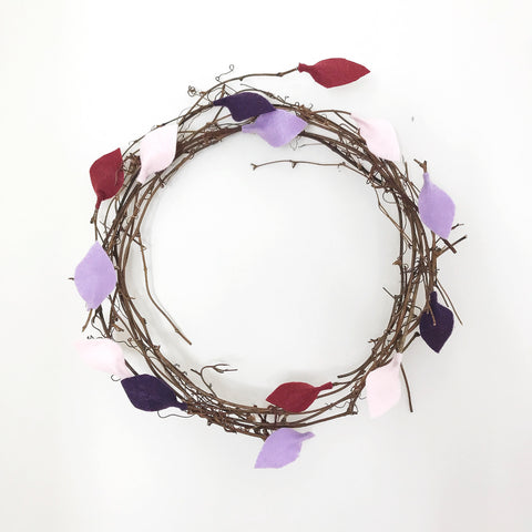 WREATH Violetta - Baby Jones Designs