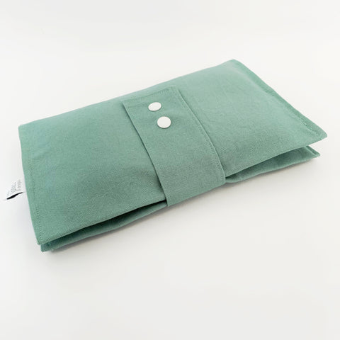 Seafoam nappy wallet - Baby Jones Designs