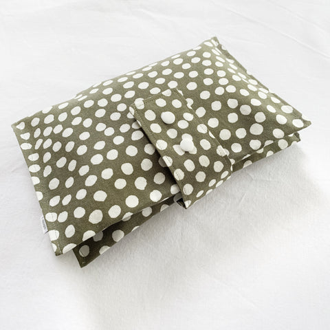 SAGE SPOT nappy wallet - Baby Jones Designs