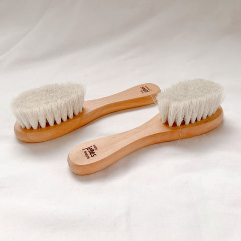 wooden baby brush - Baby Jones Designs