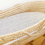 Raindrops bassinet sheet - Baby Jones Designs