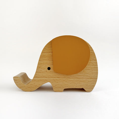 Wooden Musical Elephant | CLAY - Baby Jones Designs