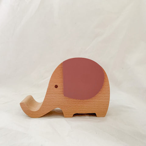 Wooden Musical Elephant | TERRA-ROSE