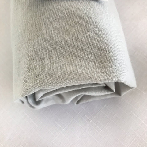 ORGANIC OYSTER GREY bassinet sheet - Baby Jones Designs