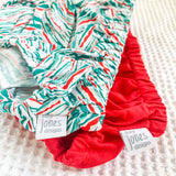 Size 000 two pack | Santa Red + Festive