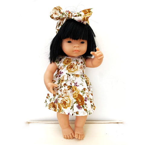 SOPHIA doll dress set - Baby Jones Designs