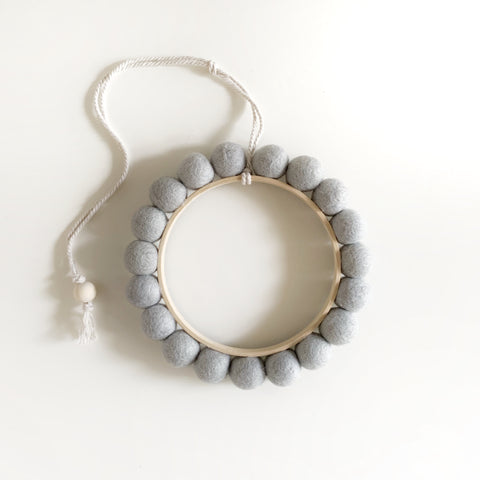 luna hoop | duck egg - Baby Jones Designs