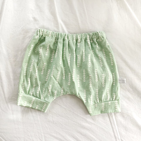 short harem pants | mint directions - Baby Jones Designs