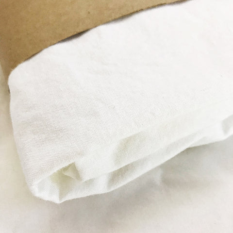 ORGANIC SNOW WHITE bassinet sheet - Baby Jones Designs