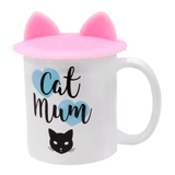 Cat Ears Silicone Mug Cover (More Colours) - Cat Lovers Australia