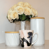 The Lady and the Kitten - Cat Mug - Cat Lovers Australia