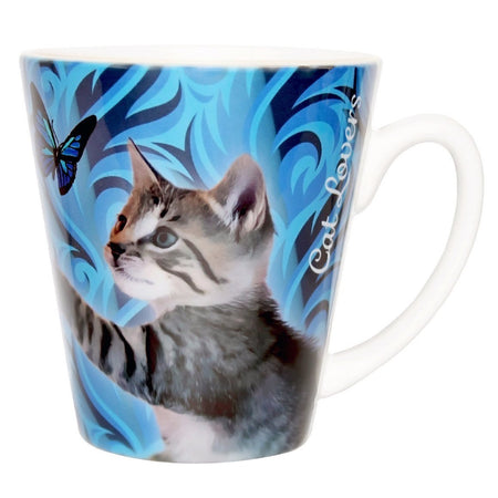 Kitty Nose, Mouth and Whiskers Glass Cup