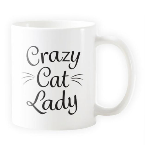 Crazy Cat Lady - Novelty Cat Mug - Cat Lovers Australia