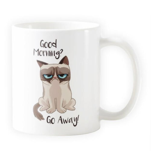 Grumpy Cat Inspired - Novelty Cat Mug - Cat Lovers Australia