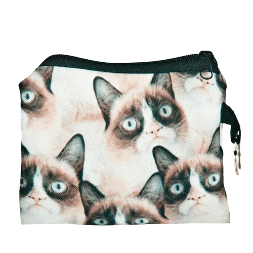 Cat Coin Purse - Grumpy Cat - Cat Lovers Australia