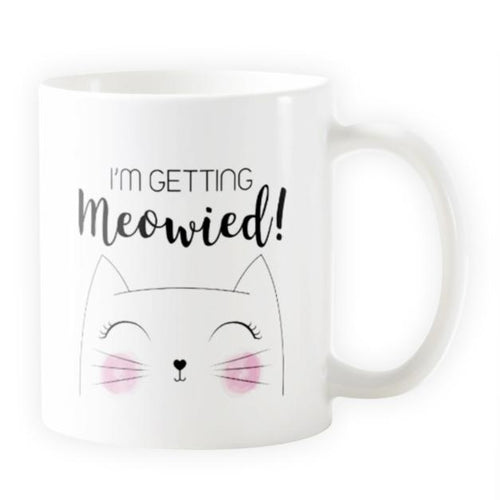 I'm Getting Meowied! - Novelty Cat Mug for Brides - Cat Lovers Australia
