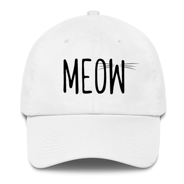 Meow Women's Hat - Cat Lovers Australia