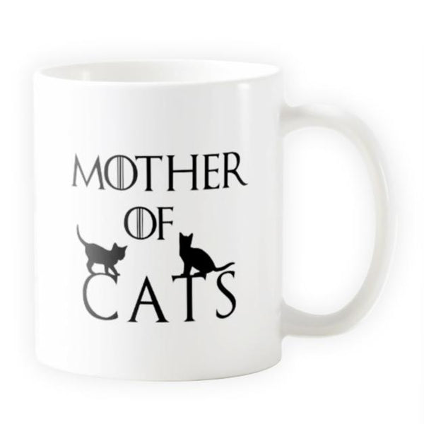 Mother of Cats - Novelty Cat Mug - Cat Lovers Australia