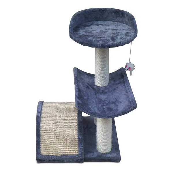 Cat Scratcher Tree 60cm Grey - Cat Lovers Australia