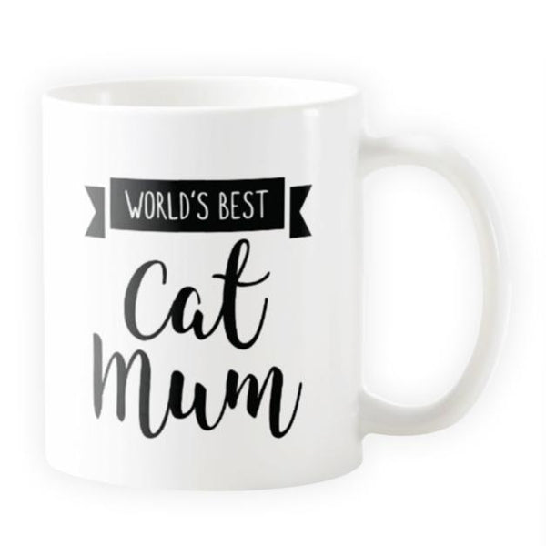 World's Best Cat Mum - Novelty Cat Mug - Cat Lovers Australia