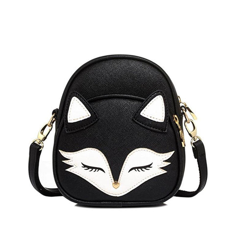 Sweet Cat Handbag - Black - Cat Lovers Australia