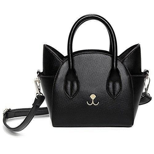 Kitten Handbag - Black - Cat Lovers Australia