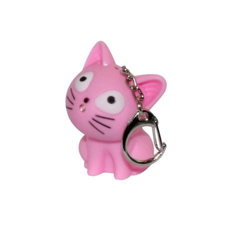 Cat with Little Bell Key Ring