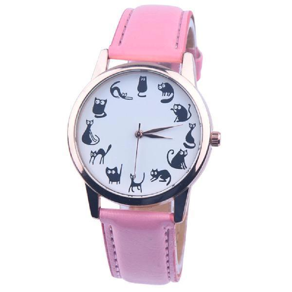 Cats Wrist Watch (More Colours) - Cat Lovers Australia