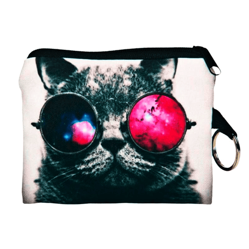 Cat Coin Purse - Sunglasses Cat - Cat Lovers Australia