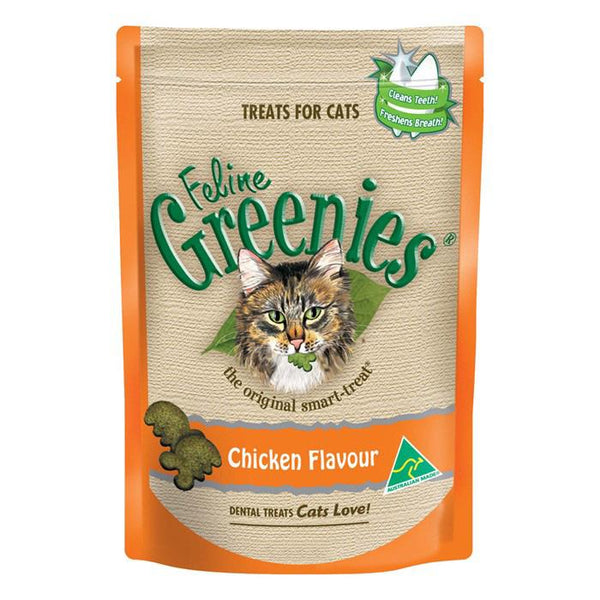 Greenies Chicken Cat Dental Treats - Cat Lovers Australia