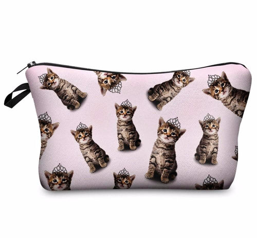 Princess Kitten Makeup Bag - Cat Lovers Australia