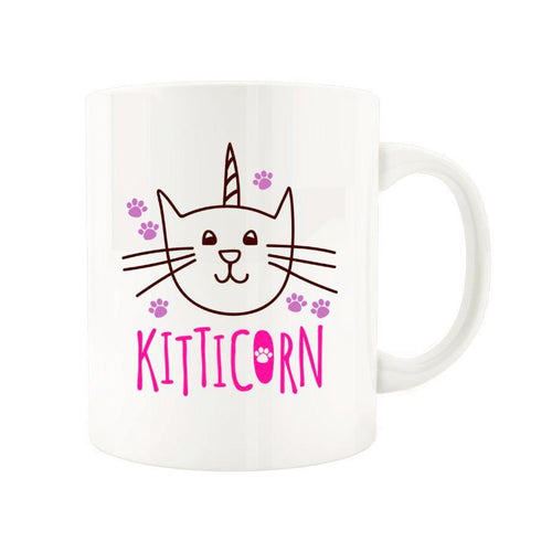 Kitticorn Kitty - Novelty Cat Mug - Cat Lovers Australia