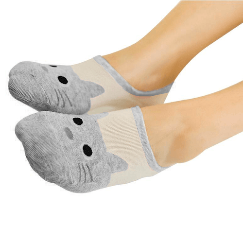 Super Low-Cut Ankle Socks (More Colours) - Cat Lovers Australia