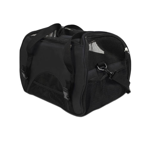 Pet Carrier - Black - Cat Lovers Australia