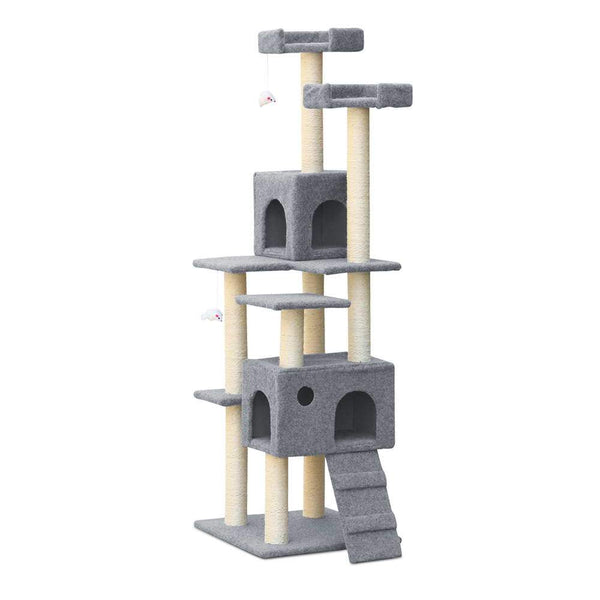Luxury Cat Tree House and Scratching Post - Cat Lovers Australia