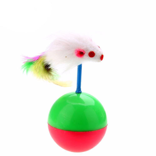 Mouse Tumbler Ball Cat Toy - Cat Lovers Australia