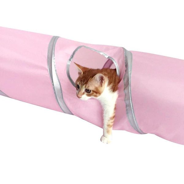 Crinkle Fun Cat Tunnel (More Colours) - Cat Lovers Australia