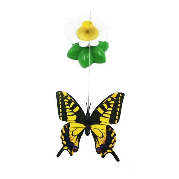 Rotating Bird or Butterfly Cat Toy - Cat Lovers Australia