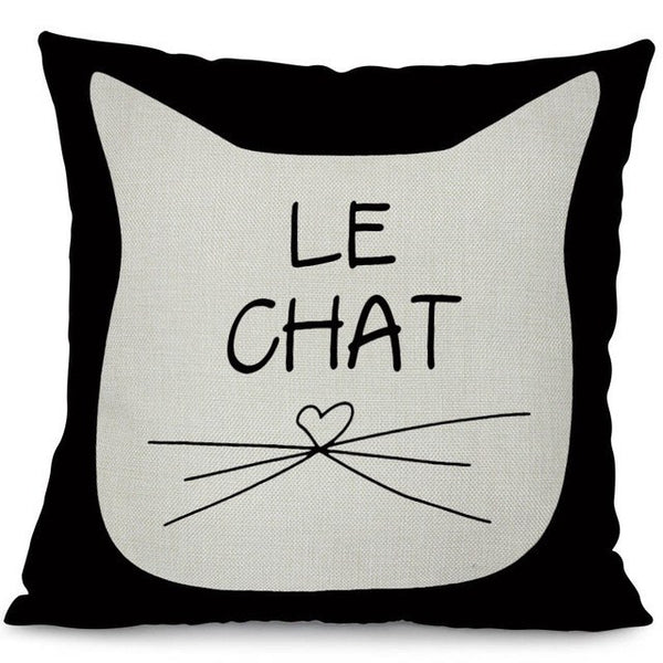 Climbing Cats Cushion Cover (More Designs) - Cat Lovers Australia