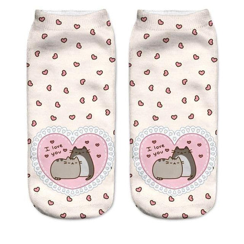 Pusheen The Cat - Women's Socks - Cat Lovers Australia