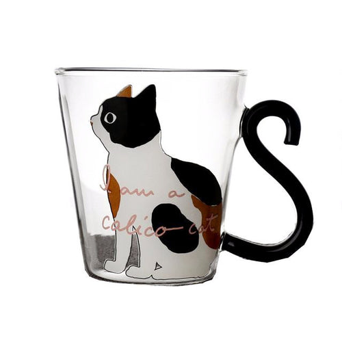 I am a Cat Glass Cup (More Designs) - Cat Lovers Australia