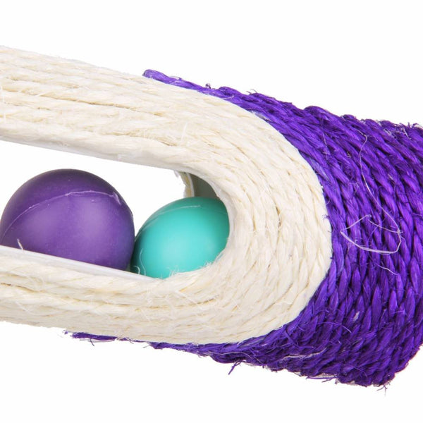 Cat Scratcher With 3 Balls Toy - Cat Lovers Australia