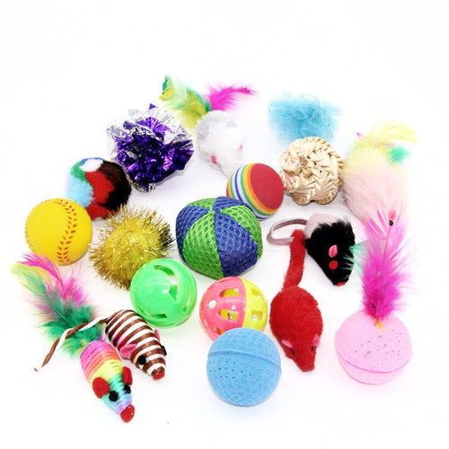 Mixed Bundle of Cat Toys - Cat Lovers Australia