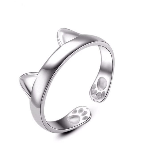 Cat Ring with Little Cat Ears - Cat Lovers Australia