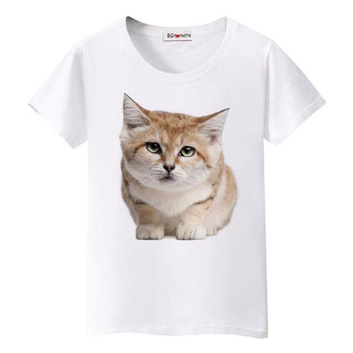 Bored Kitty Women's T-Shirt - Cat Lovers Australia