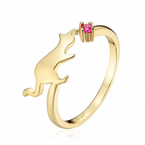 Cat Playing Jewellery (Silver or Gold) - Cat Lovers Australia