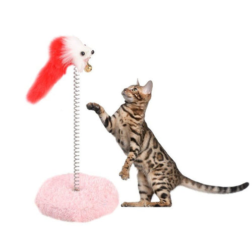 Mouse and Bell Cat Toy - Cat Lovers Australia