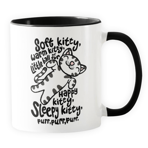 Soft Kitty - Novelty Cat Mug - Cat Lovers Australia
