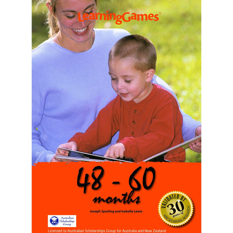 LearningGames 48 – 60 Months - Educational Resources